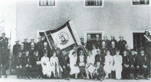 """Festverein """"Freiwillige Feuerwehr Zinzendorf"""" 1931"""